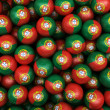 Portuguese Soccer balls — Stock Photo