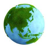Grass earth - asia — Stock Photo