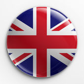 Placa - union jack — Foto de Stock