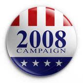Badge - 2008 election — Stock Photo