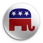 Badge - republican — Stock Photo