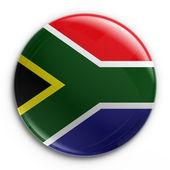 Badge - South African flag — Foto de Stock