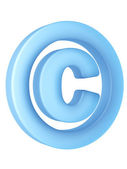 Copyright sign — Stock Photo