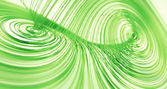 Green Lorenz Attractor — Stock Photo