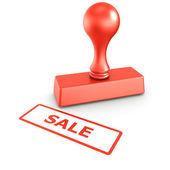 Prodej razítko — Stock fotografie