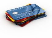 Credit cards — Stock fotografie