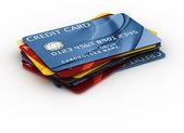 信用卡 — 图库照片
