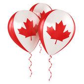 Canadian balloons — Stock Photo