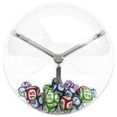 Koule v loterii stroj — Stock fotografie