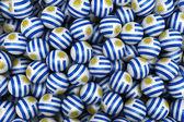Uruguayan Soccer balls — Stock Photo