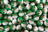 Algerian Soccer balls — Stock Photo