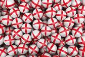 İngiliz futbol topları — Stok fotoğraf
