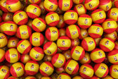Spanish Soccer balls — Stock Photo