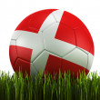 Soccerball in grass — Stock Photo #8292278