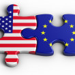 USA - Europe - Stock fotografie
