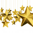 Gold stars — Stock Photo