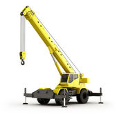 Mobile Crane — Stock Photo