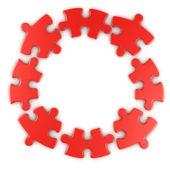 Circular puzzle — Stock Photo