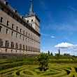 Stock Photo: SLorenzo de El Escorial Monastery , Spain on Sunny Day