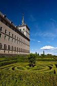 San Lorenzo de El Escorial Monastery , Spain on a Sunny Day — Stock Photo