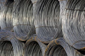 Cable Wire Rolls Kept Together — Stock Photo