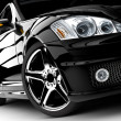 Black car — Stockfoto #8176329