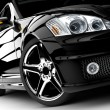 Foto Stock: Black car