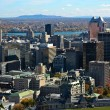 Downtown of Montreal Quebec Canada — Foto Stock