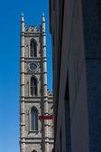 Notre-Dame Basilica Church - Montreal Quebec Canada — Stock Photo
