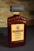 3D Model Disaronno Italian Liqueur Bottle 2 — Stock Photo