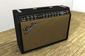 3D Model Fender Deluxe Reverb Amp 2 — Stock Photo