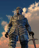 Celestial Knight — Stock Photo