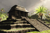 Ancient Mayan Ruins — Stock Photo
