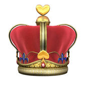 King's Royal Crown — Stock Photo