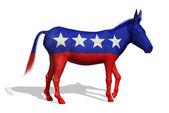 Democrat Donkey — Стоковое фото