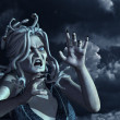 Stock Photo: Stormy Medusa