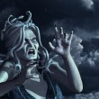 Stormy Medusa - Stock Photo