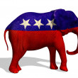 Republican Elephant — Stock Photo #8281079