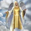 Angel of Light - Stock Photo