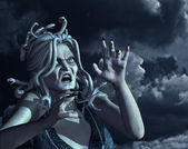 Stormy Medusa — Stock Photo