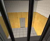 Padded Cell in a Mental Hospital — Stock Photo