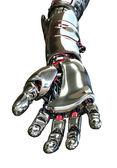 Robot hand die reikt naar voren — Stockfoto