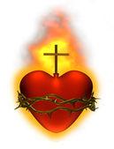 Kutsal yürek — Stok fotoğraf
