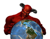 The Devil Rules the World — Stock Photo