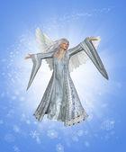 Winter Angel — Stock Photo