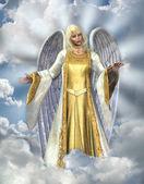 ángel de luz — Foto de Stock