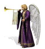 Angel Gabriel — Stock Photo