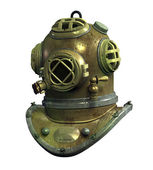 Antique Scuba Helmet — Stock Photo