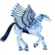 Chrome Pegasus — Stock Photo #8295425