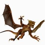 Dragon in Flight — Stock Photo